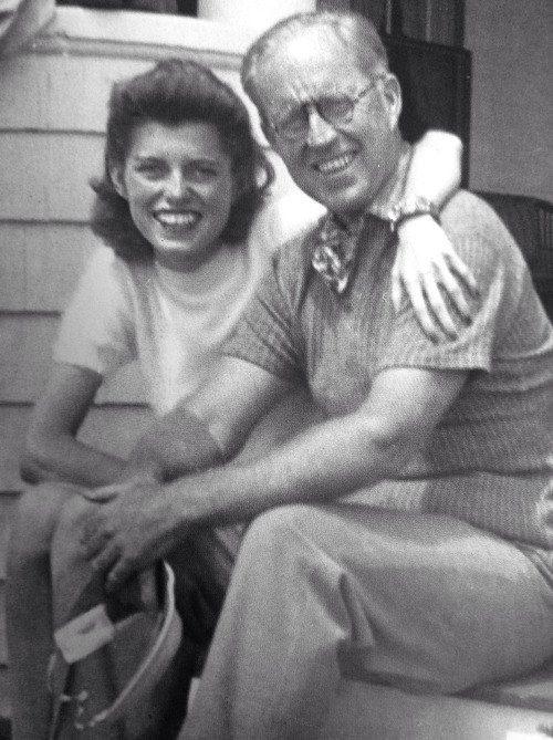 Eunice and her father Joe