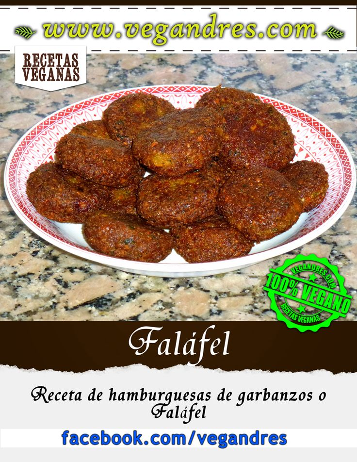 Faláfel – las hamburguesas veganas de garbanzos #vegan #vegano