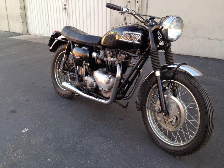 Born Loser: 1962 Triumph Bonneville For Sale