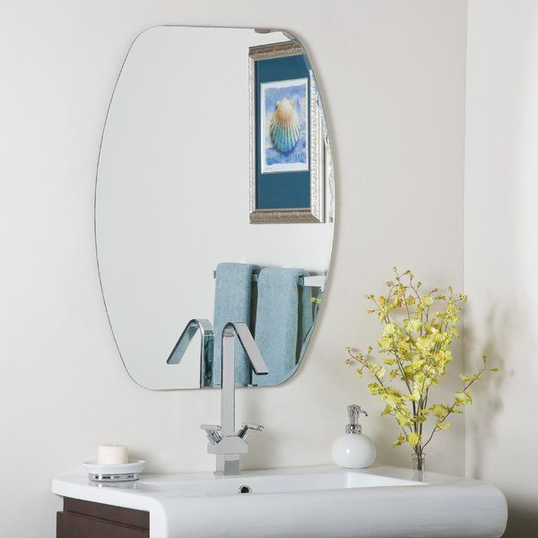 The Logan Frameless Wall Mirror is one of the latest line in wall mirrors. It is elegant in looks and functional in aspect and is certain to suit any type of interior. For an extra life and to resist fading, this unique wall mirror comes with a double silver coating. Its beveled edges are so narrow in width that it gives the illusion of the mirror floating on the wall, seemingly without any support. It is a fairly big-sized mirror. Its trendy looks and neutral design lend it a timeless look…