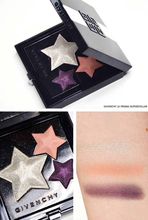 GIVENCHY Superstellar Autumn Makeup Swatches