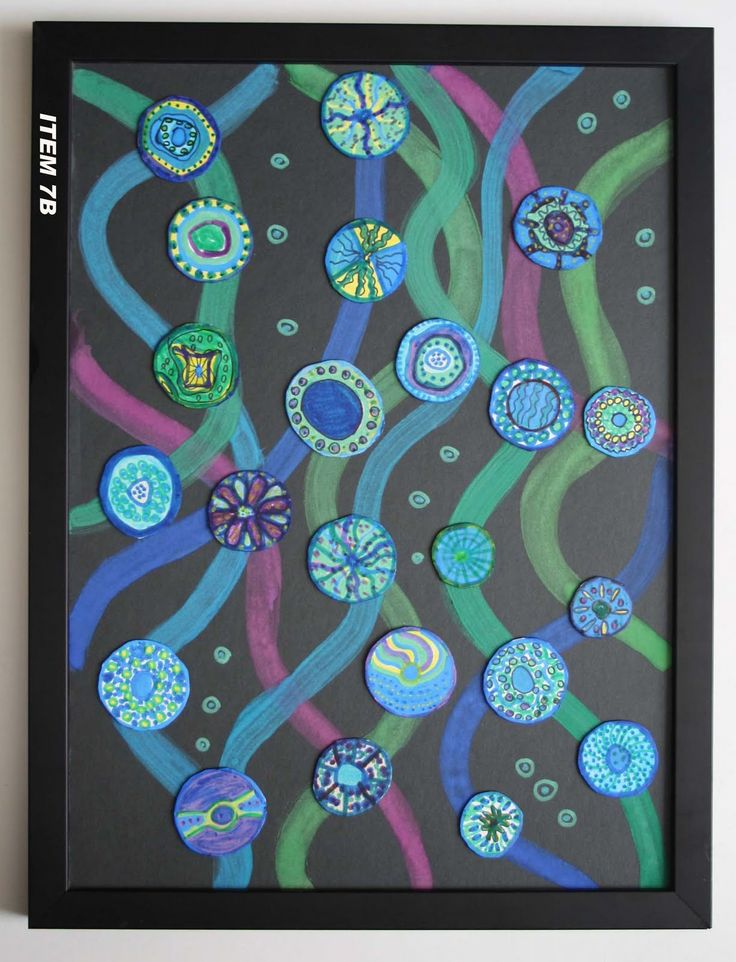 IMAGINE Beeliar Primary School Art Exhibition and Art Auction 2010: TA 7 YR 4- RIVER INSPIRED BY BRONWYN BANCROFT