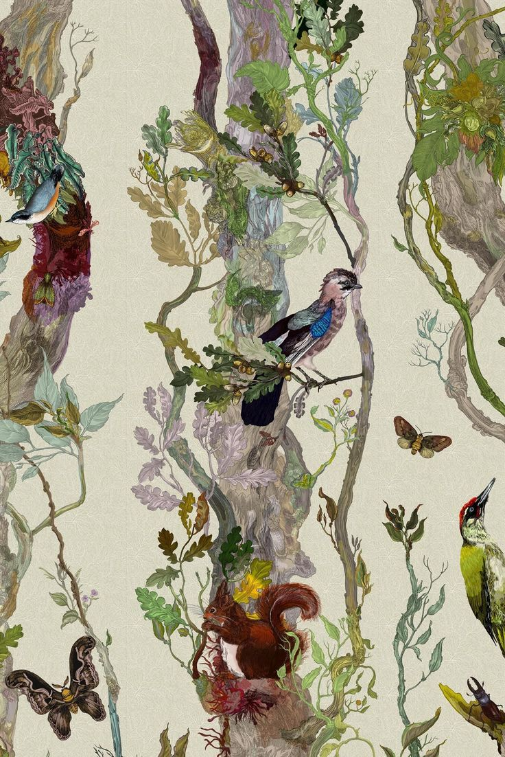 Indie Wood wallpaper