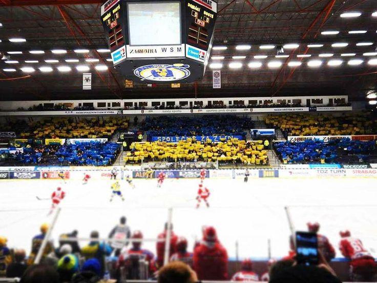 #ševci fans #zlín #blue&yellow
