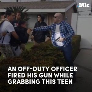 Horrifying new footage shows an off-duty cop shooting a gun at a group of teens in Anaheim #news #alternativenews