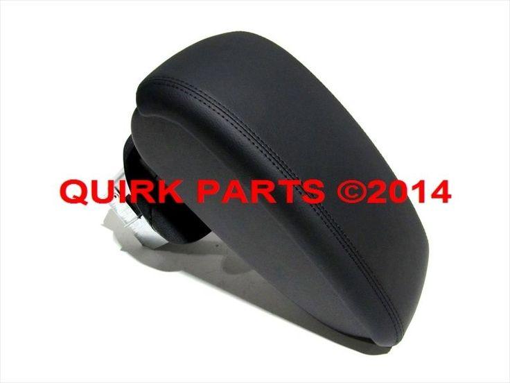 2011-2014 Nissan Juke Black Leather Center Console Arm Rest Pad & Hinge OEM NEW  #Nissan