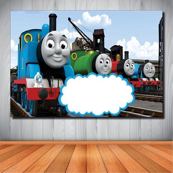 Painel Thomas E Seus Amigos 1 50x1 00m Thomas The Train