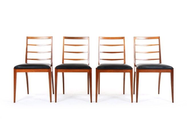 Four McIntosh Dunvegan Dining Chairs - Mr. Bigglesworthy Designer Vintage Furniture Gallery