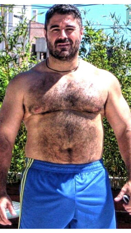 Pin De Grizzly J Em Beautiful Belly Bears  Homens Peludos -8552