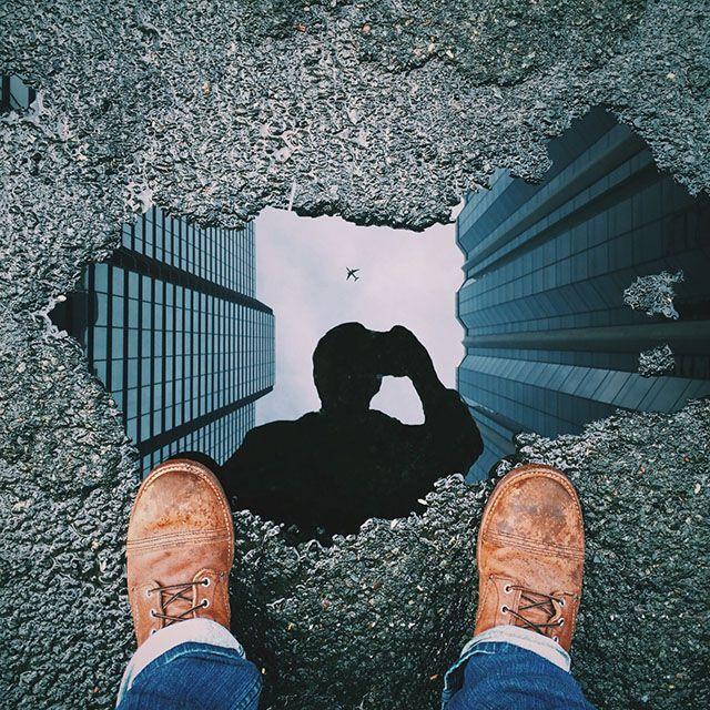 Wie ich dieses Bild mit der Pfützenreflexion in Photoshop erstellt habe Ich heiße Michael Pistono und bin ein 28-jähriger Fotoenthusiast, der in Honol …