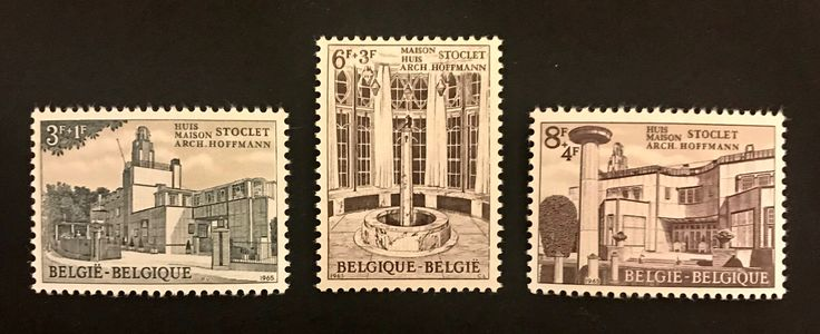 #UNESCO World Heritage #Stamps #Belgium #Stoclet House