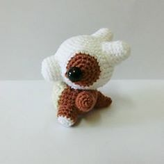Cubone (Pokémon) - free crochet pattern by Yeong Shin.