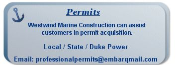 Marine Construction NC, Marine Contractor NC - Westwind Marine Construction