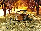This is at The Peterson Car Museum! I saw it there recently! -1885 Carl Benz' First Car, the Patent.