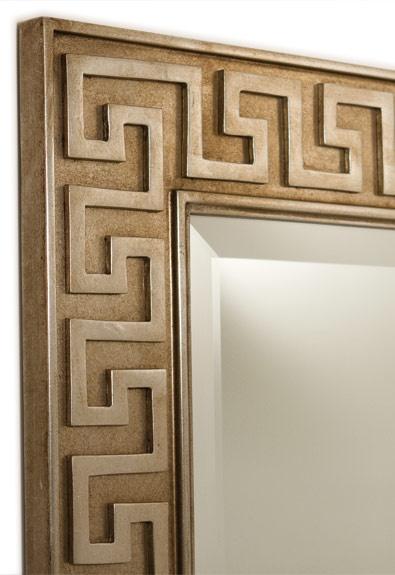 Greek Key Mirror, SAPM1002. Http://www.fschumacher.com/
