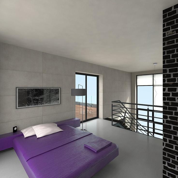#Lofts, Ząbkowska St by @Koneser #interior #bedroom