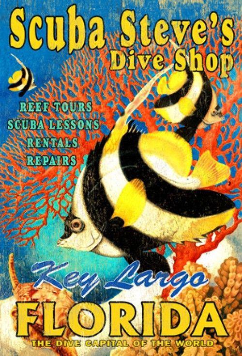 Scuba Steve's Dive Shop Art - Custom