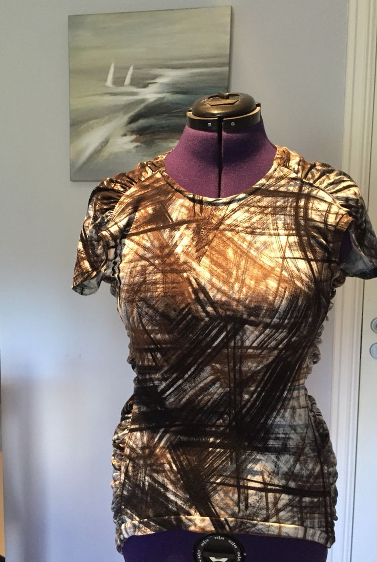 """Camo top, by nina dirix, pattern guidance with credits to""""Pattern magic"""""""