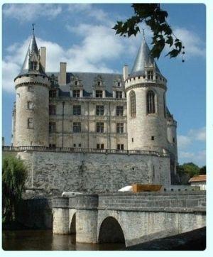 Chateau de Rochefoucauld, Charente, France