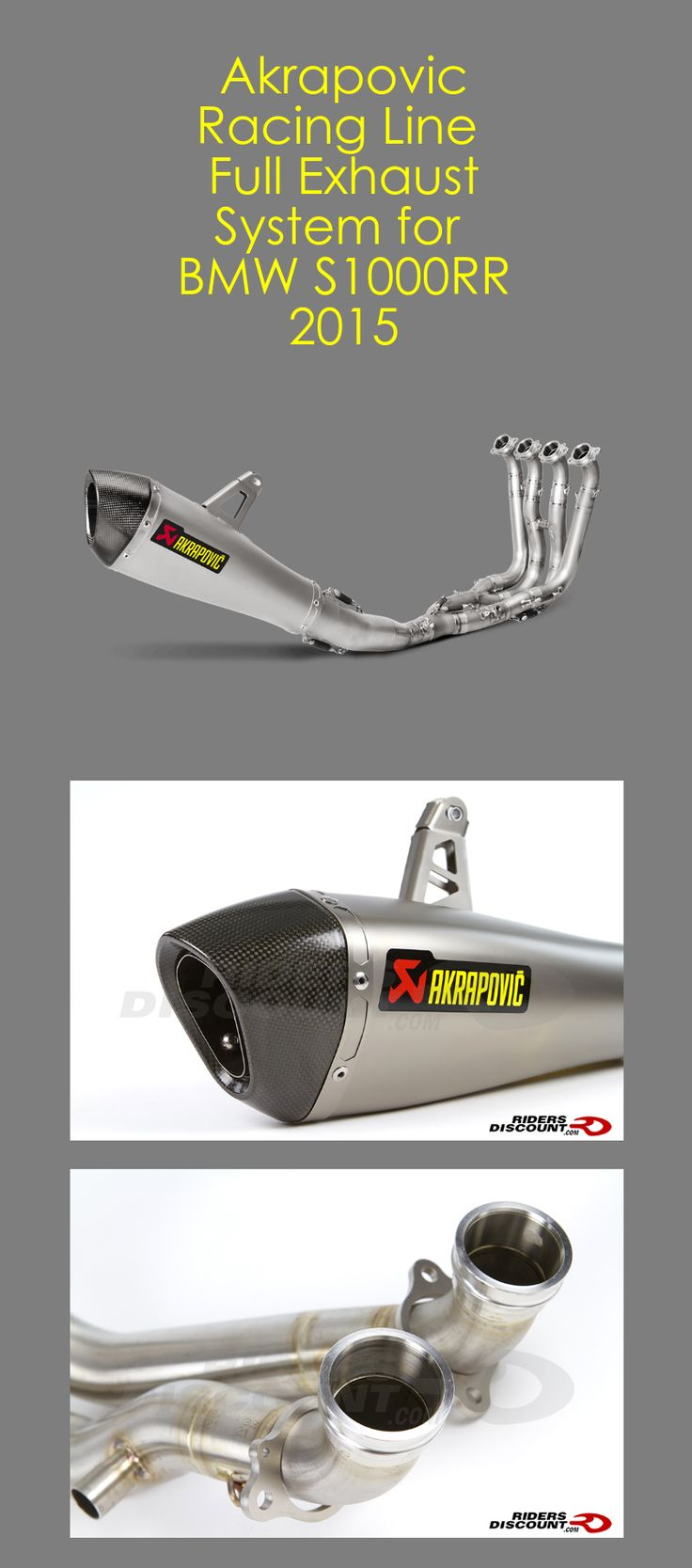 Review: The Akrapovic Racing Line Full Exhaust System for the BMW S1000RR 2015 is one of the best options in both price and performance when looking to upgrade your motorcycle.