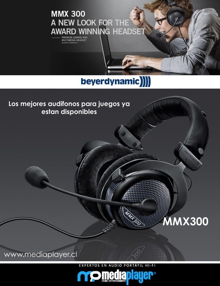 Beyerdynamic MMX300 - Los mejores audifonos Gamer estan en Mediaplayer