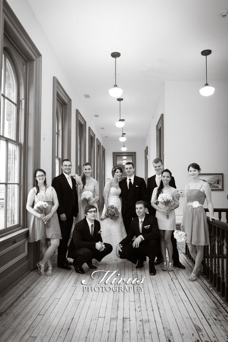 St. Thomas Ontario Train Station Wedding Photographers Mirus Photography