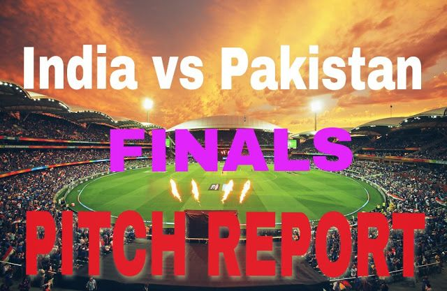 Indian sports Channel: India vs pakistan champions trophy final pitch rep...