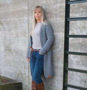 durable cosy fine vest gratis patroon haken