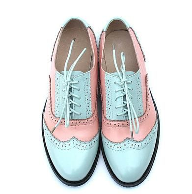 Aliexpress.com : Buy Spring Autumn Lace Up Casual Thick Heel Brogues Shoe Woman Oxford Shoes US Size 34 45 Vintage Genuine Leather Flats Womens from Reliable shoes soft suppliers on tang Fashion shoes
