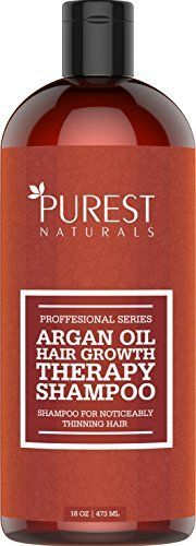 (Product review of Purest Naturals Organic Argan Oil Hair Loss Shampoo For Hair Regrowth - Best Natural Treatment For Hair Loss & Thinning - For Men & Women - Anti Aging Hair Care) -  Are you suffering from excessive hair loss? Argan oil is one of the best oils you can use to prevent or slow down this process. Try our 100% natural treatment which takes care of conditioning your scalp and hair to prevent hair loss and thinning. Even if you do not experience any hair loss our.