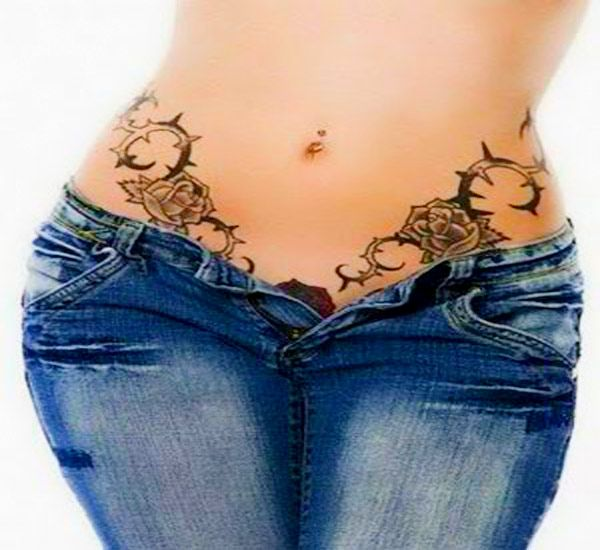 sexy waist tribal tattoo for women tribal tattoos for women pinterest tattoo tatting and. Black Bedroom Furniture Sets. Home Design Ideas
