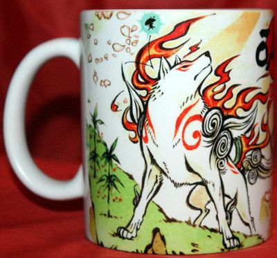 Okami HD Coffee Mug Amaterasu Capcom Nintendo Zelda PS3 Okami | eBay