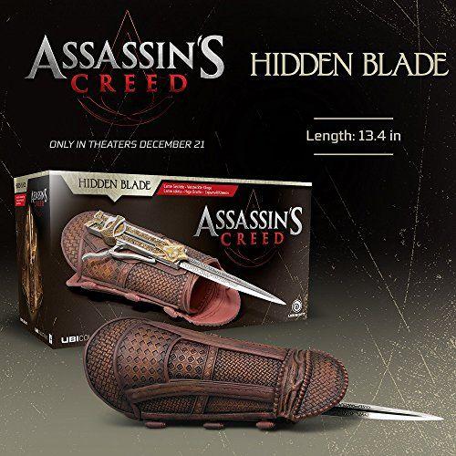 Ubisoft Assassin's Creed Movie Hidden Blade Costume Ubisoft https://www.amazon.com/dp/B01MXGNZQO/ref=cm_sw_r_pi_dp_x_m2hVybYFZXQD0