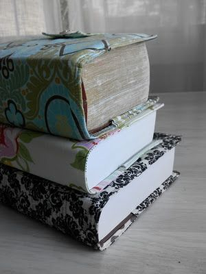 simply homemade: book cover tutorial