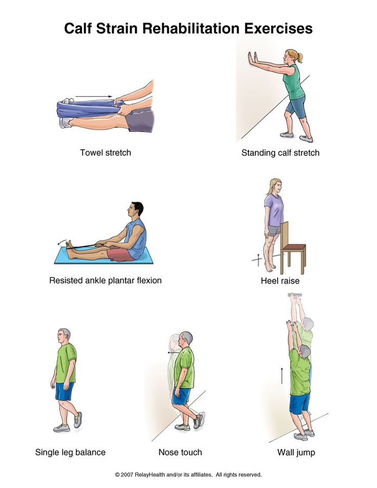 Summit Medical Group - Calf Strain Rehabilitation Exercises