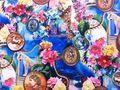 2015 bunte regenbogen blume partykleid stoff weihnachten party schreibtisch abdeckung luxus boden stickerei stoff fancy arbeit in  spitzenstoff schweizer voile spitze high quality stoff zum nähen straußenfedern federn zum verkauf baumwolle schn aus Stoff auf AliExpress.com | Alibaba Group