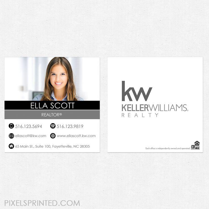 Keller Williams business cards, Weichert marketing products, realtor ...