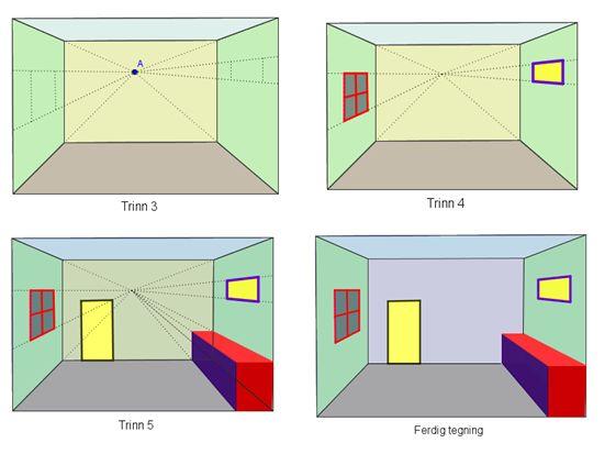 Bilderesultat for perspektivtegning