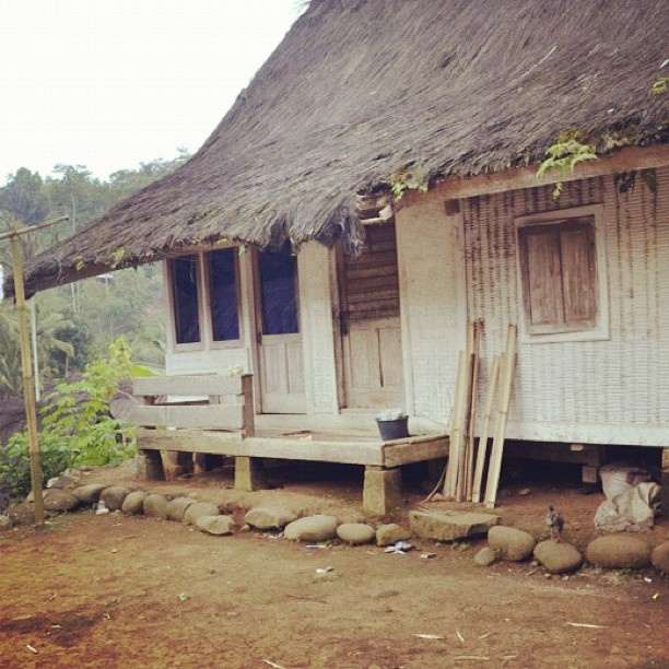 Typical Naga House - Kampung Naga - @auliaassfr- #webstagram