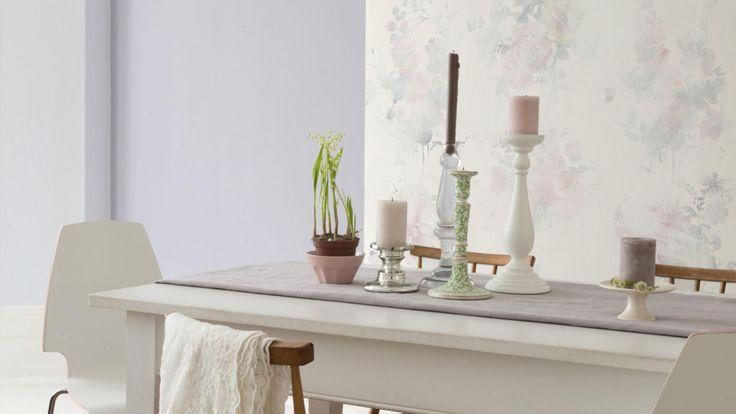 Romantique et énigmatique, cette palette tendance utilise des teintes douces et feutrées pour une quiétude assurée.