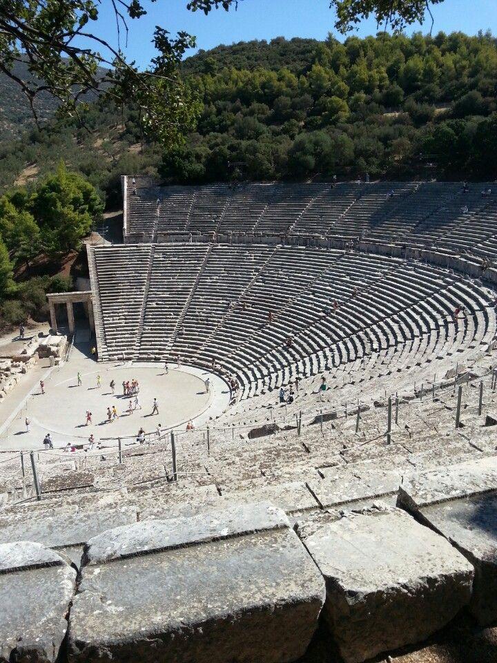 Επίδαυρος, Epidaurus, Epidavros, Ancient Theatre of Epidaurus, Argolis, Argolida, Peloponnese, Greece
