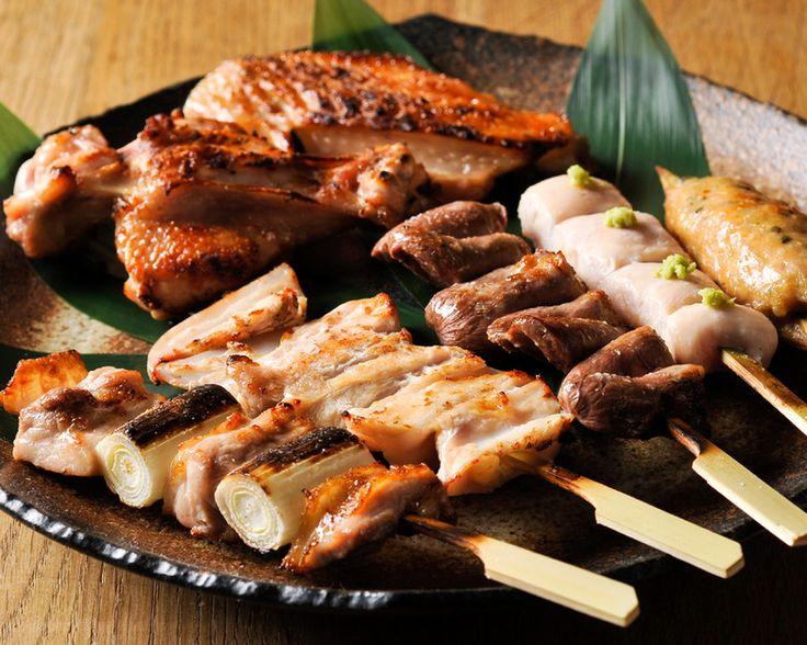 Yakitori ^^ green union with chicken