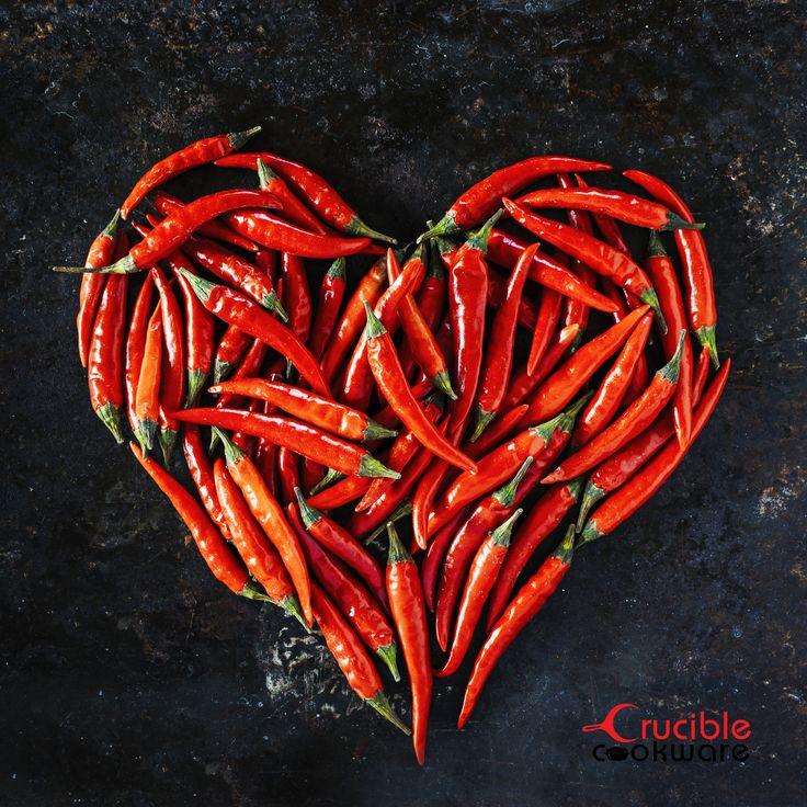 Chili pepper - heart love