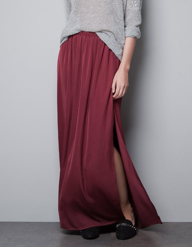 LONG SKIRT WITH SLITS diy it.