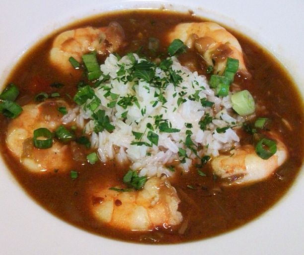 We save the seafood gumbo for special occasions is that it is so expensive to make. But now I think I have found a variation of seafood gumbo that I can make more often. It's a Louisiana classic: Shrimp and Okra Gumbo!