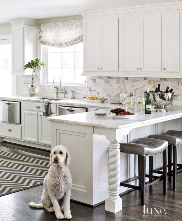 From traditional to modern, these are the top 10 Luxe kitchens from 2015.