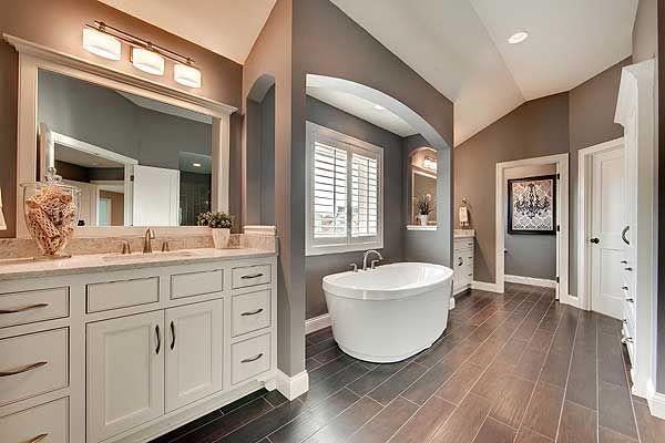 Master Bath, house plan 73330HS, Craftsman open floor plan