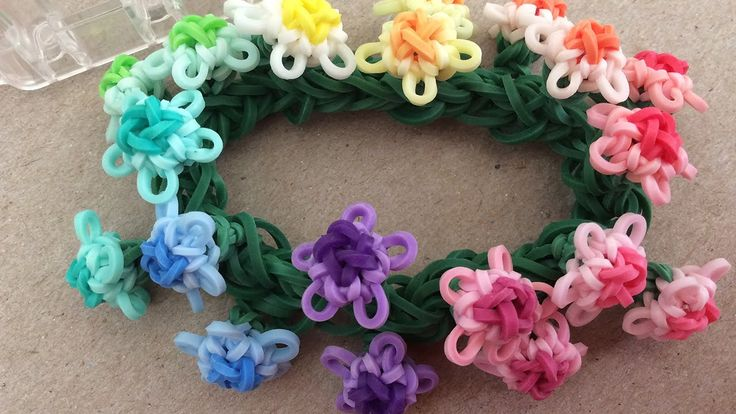 35 best images about diy monster loom flower bracelets on
