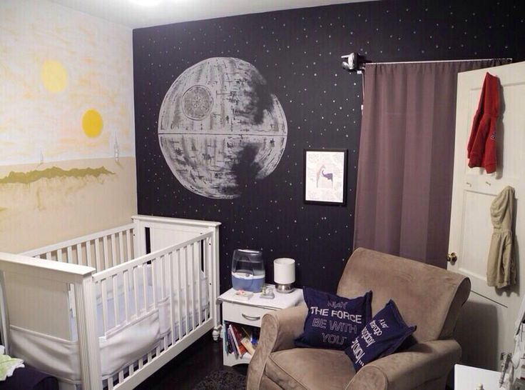 Star Wars Themed Baby Room I Love It Baby Pinterest