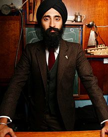 Style Icon, Waris Ahluwalia. Carries himself with such class, grace and style
